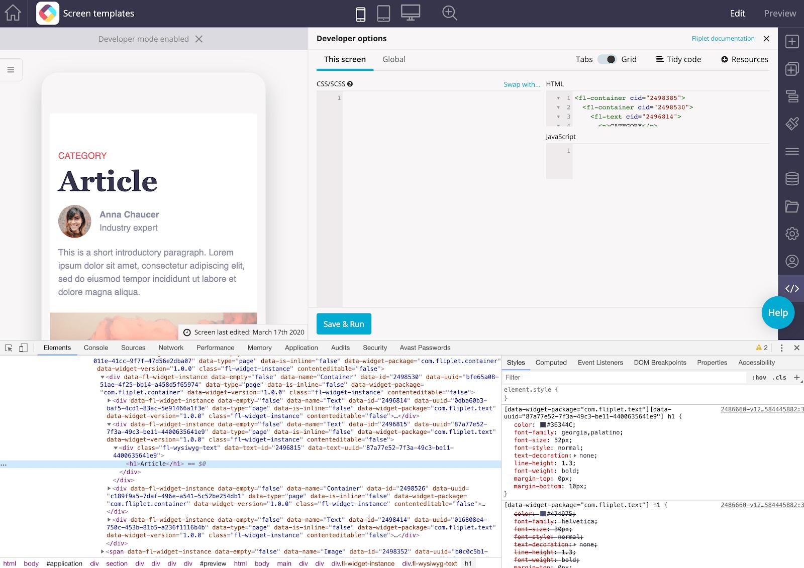 Fliplet Studio Developers